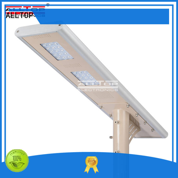 all in one solar street lights motion street ALLTOP Brand company