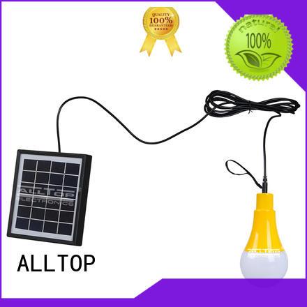 ALLTOP Brand wall lumen bulb solar wall lamp outdoor solar
