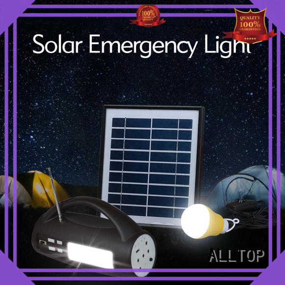 system solar power generator system emergency for camping ALLTOP