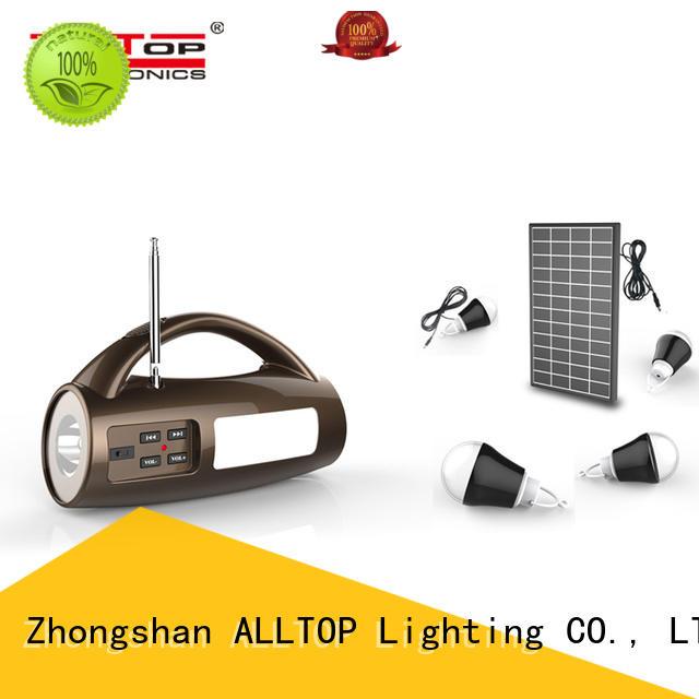 ALLTOP solar lighting system wholesale for outdoor lighting