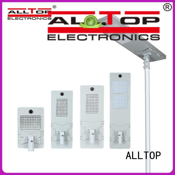 ALLTOP automatic solar street light factory manufacturer for garden