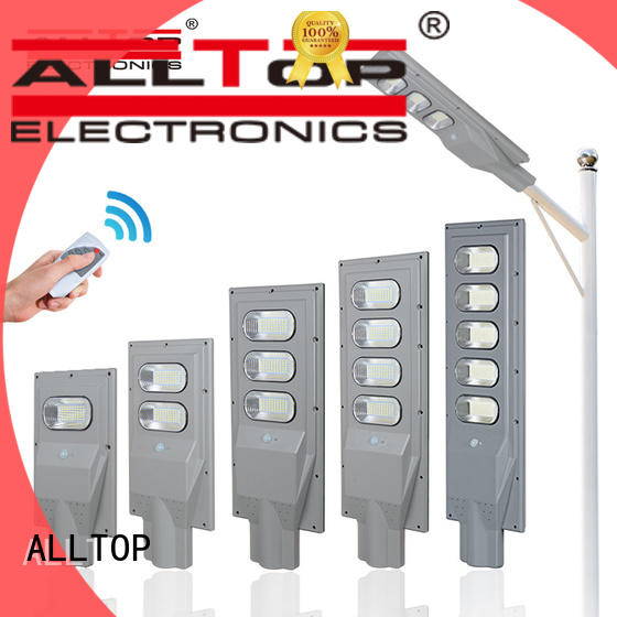 ALLTOP high-quality all in one solar street courtyard light flood for garden