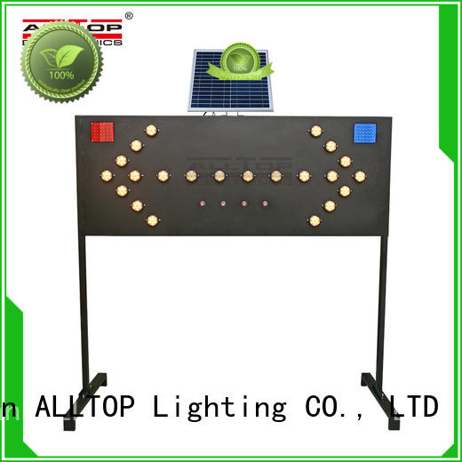 ALLTOP double side solar traffic signal portable for hospital