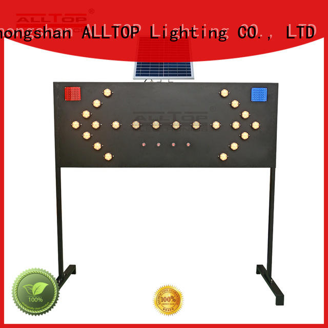 ALLTOP double side traffic light sign intelligent for security