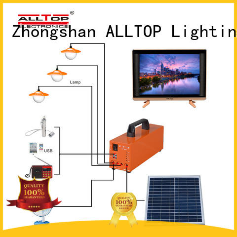 abs solar dc lighting system on-sale for outdoor lighting