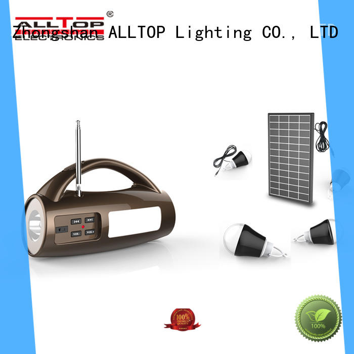 product battery system ALLTOP Brand solar led lighting system
