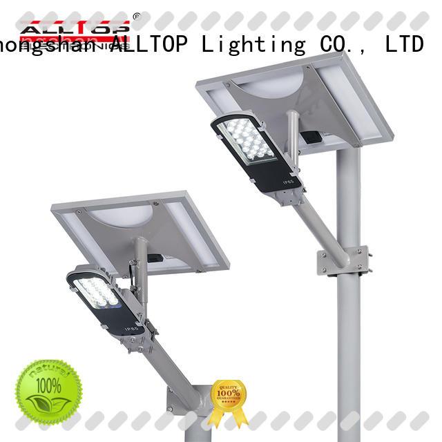 ALLTOP solar led street light manufacturers for lamp