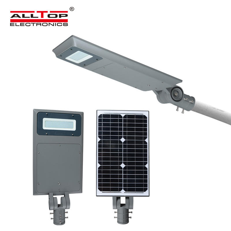 ALLTOP -Outdoor All In One Solar Led Street Light | Outside Solar Lights