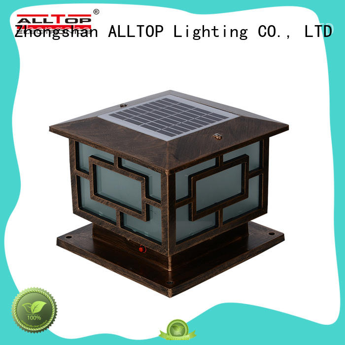 ALLTOP solar garden lamps at discount for decoration
