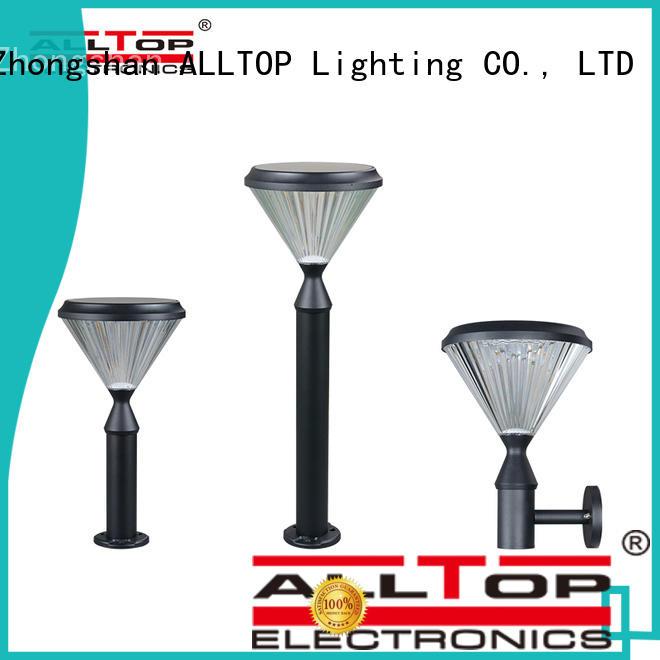 ALLTOP customized solar garden light company for decoration