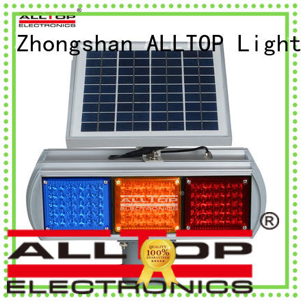 high quality solar traffic signal led for security