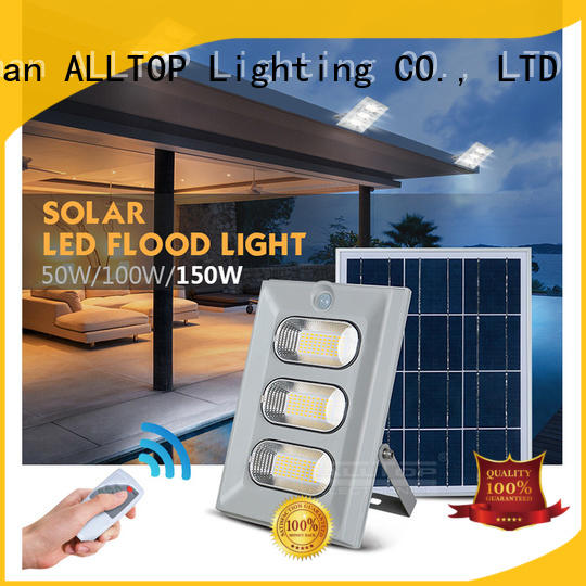 flood solar lamp free sample for highway ALLTOP