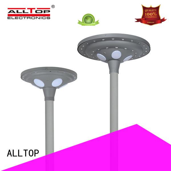 solar pillar lights energy saving for decoration ALLTOP