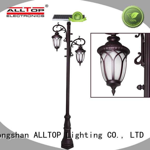 waterproof solar pillar lights manufacturer for decoration