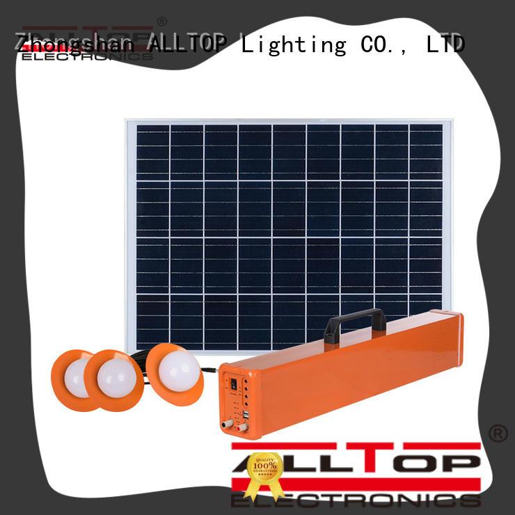 ALLTOP 12v solar lighting system on-sale for camping