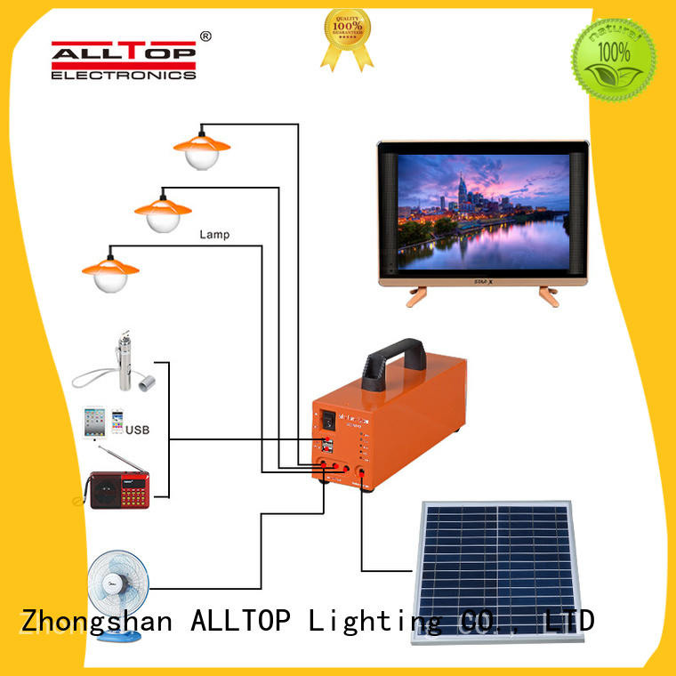 ALLTOP multi-functional solar power generator system for home