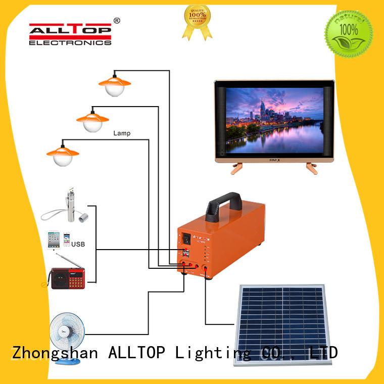 ALLTOP multi-functional solar power generator system for home