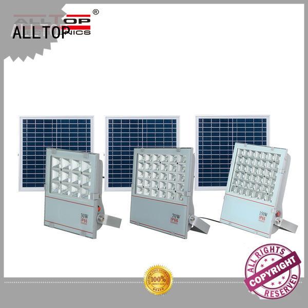 ALLTOP portable solar flood lights ODM for spotlight