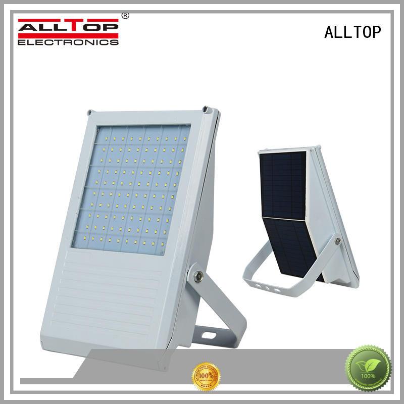 solar motion sensor flood light energy-saving for stadium ALLTOP