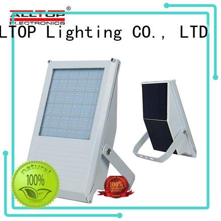 portable solar powered flood lights motion sensor popular for spotlight ALLTOP