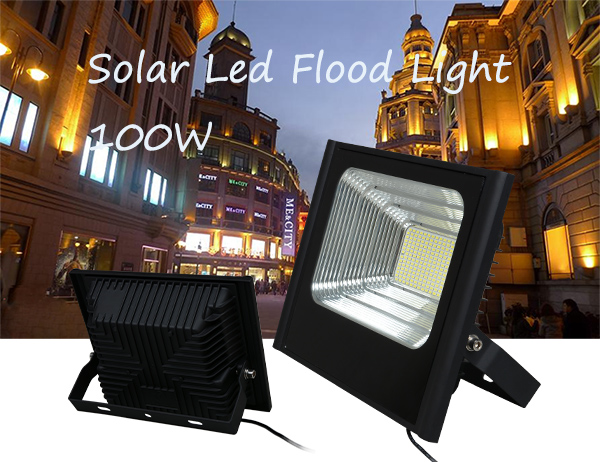 ALLTOP -Professional Solar Sensor Flood Lights Solar Powered Flood Light-4