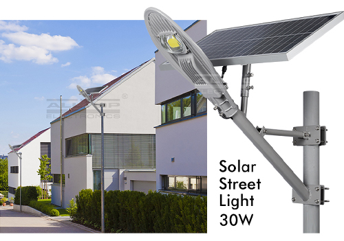 ALLTOP -12w Solar Street Light | High Lumens Bridgelux Cob Solar Street Light-1
