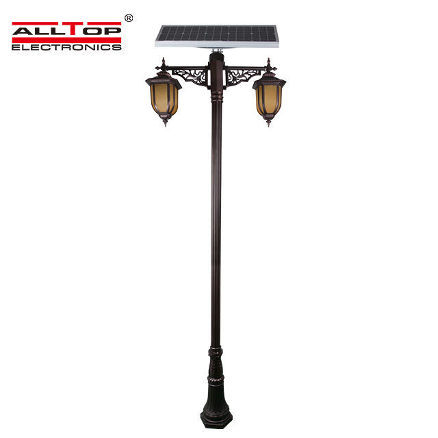 Outdoor decoration classical landscape Solar garden light  30W