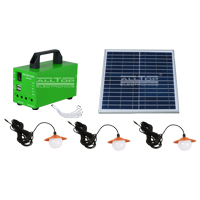 ALLTOP -Potable Outdoor Indoor 20w 30w 50w Solar Led Battery Backup System | Solar