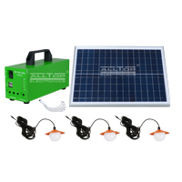 ALLTOP -Professional Solar Dc Lighting System Indoor Solar Lighting System Manufacture-1