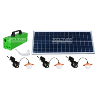 ALLTOP -Best Solar Lighting System Potable Outdoor Indoor 20w 30w 50w Solar Led-2