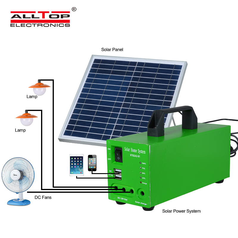 ALLTOP -Best Solar Lighting System Potable Outdoor Indoor 20w 30w 50w Solar Led-3