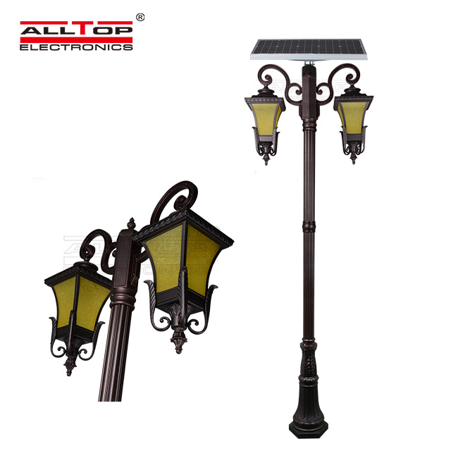 energy saving solar pillar lights supply for decoration-4