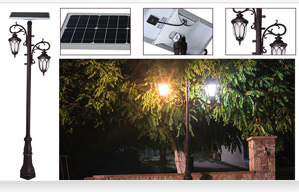 energy saving solar pillar lights supply for decoration-9
