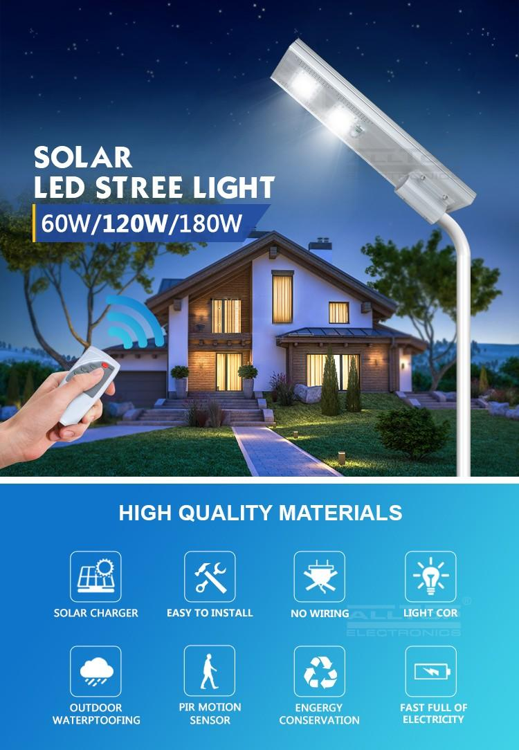 ALLTOP adjustable angle solar system light fixture directly sale for highway