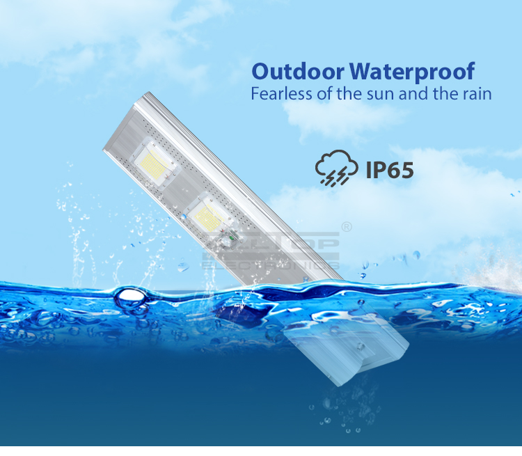 ALLTOP -Solar Led Lights Waterproof Outdoor Ip65 Motion Sensor Integrated 60w-9