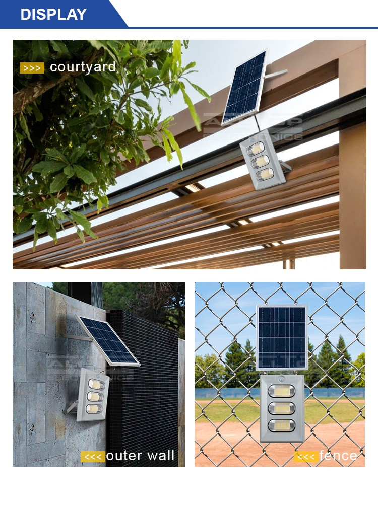 ALLTOP -High Brightness Energy Saving Outdoor Abs Ip65 50w 100w 150w Solar Led-6