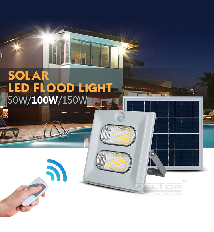 ALLTOP modern solar flood light kit ODM for spotlight-4