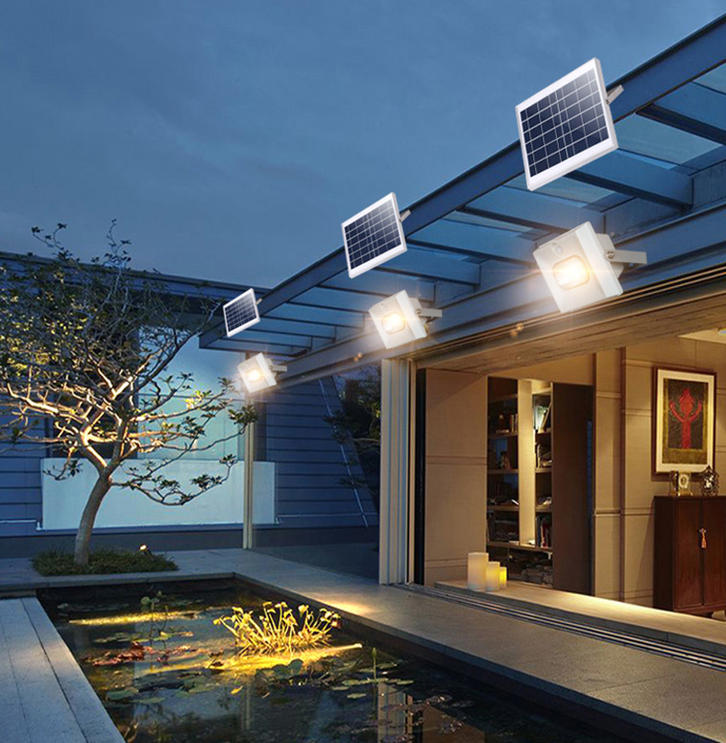ALLTOP High lumen SMD ABS 50w 100w 150w solar led flood light price