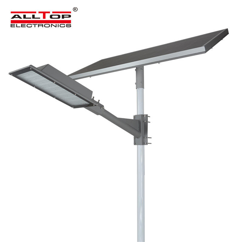 ALLTOP Solar power Die-casting aluminum waterproof outdoor 180 watt solar led street light