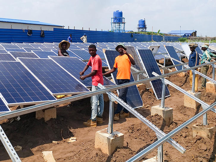 ALLTOP Solar On Grid System In Africa