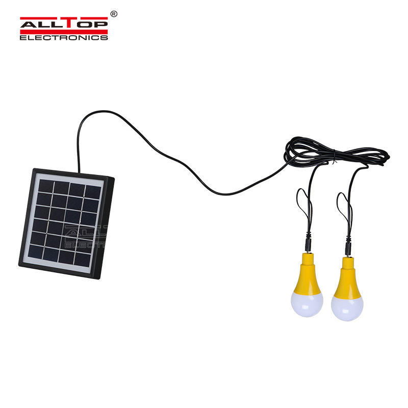 ALLTOP Camping Usage and CE Certification Energy saving 5w solar LED bulb