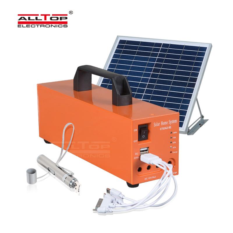 ALLTOP -12v solar lighting system | SOLAR POWER SYSTEM | ALLTOP