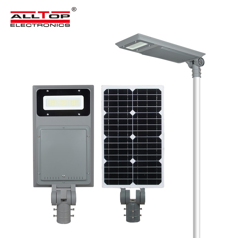 integrated customized all in one solar led street light supplier for road-1