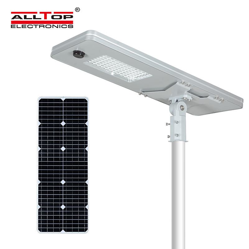 ALLTOP -ALLTOP 50W 100W 150W 200W IP65 outdoor integrated motion sensor all in one solar led street -1