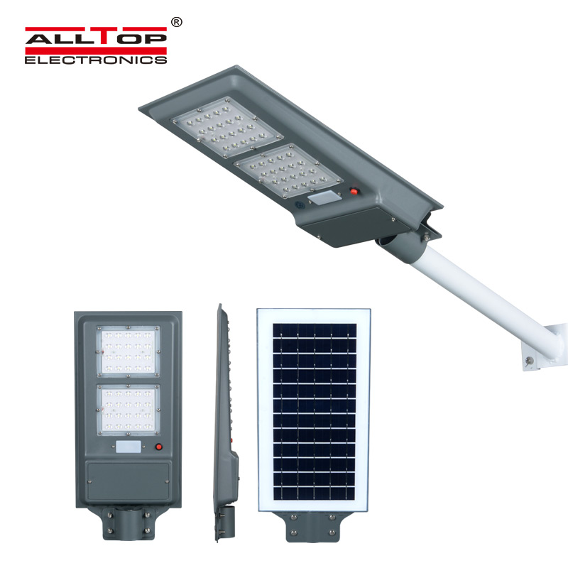 ALLTOP -solar pole lights | ALL IN ONE SOLAR STREET LIGHT | ALLTOP-1