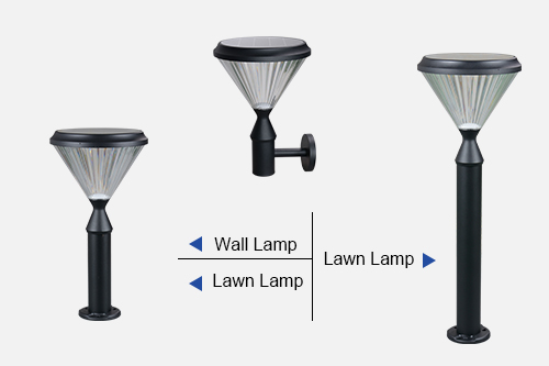 ALLTOP integrated solar patio lights for business for decoration-5