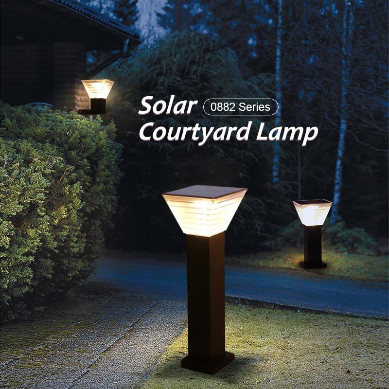 ALLTOP outdoor 5 watt intergrated all in one led solar garden light
