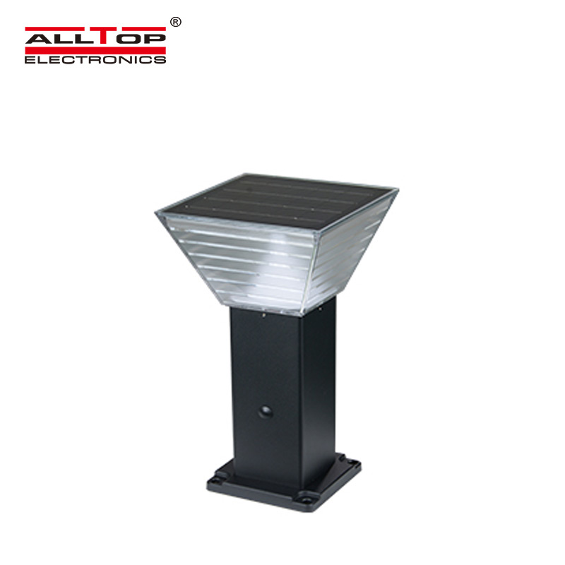 ALLTOP solar pillar lights factory for landscape-1