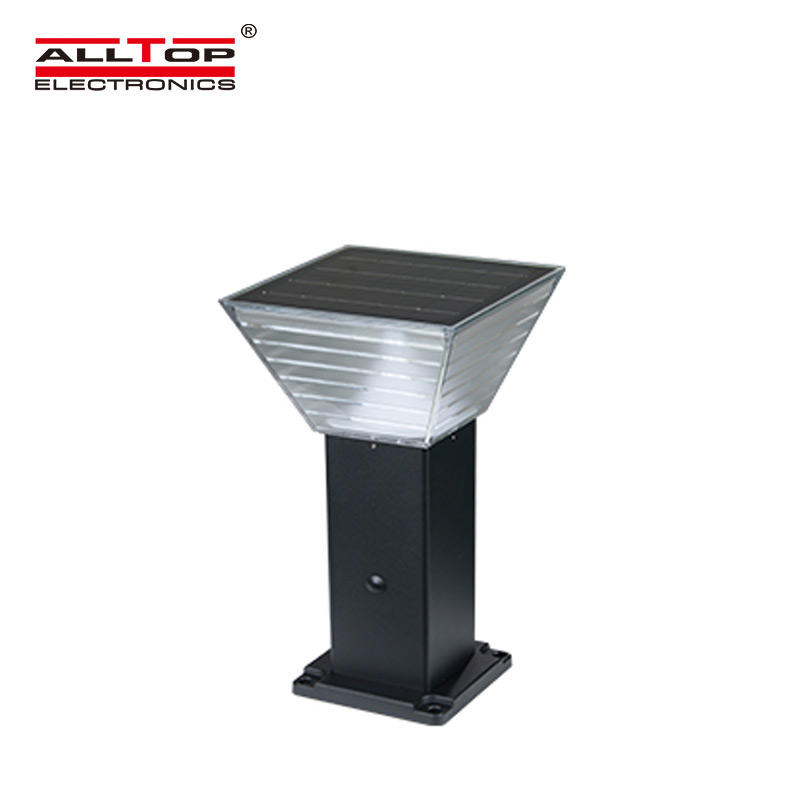 ALLTOP solar pillar lights factory for landscape
