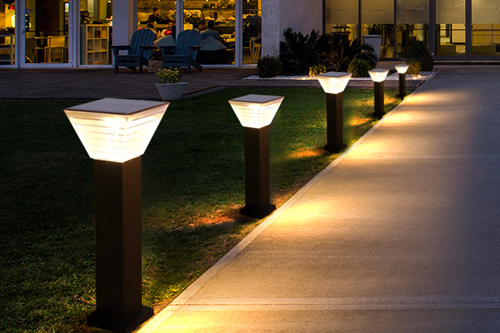 ALLTOP solar pillar lights factory for landscape-4